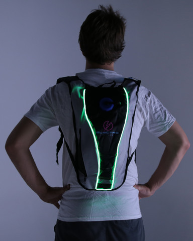 Light Up Hydration Pack - Green